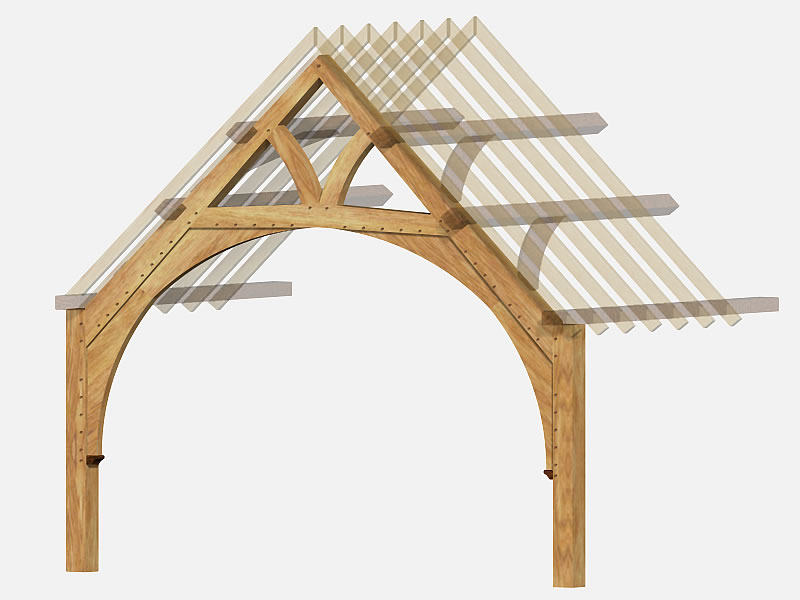 Oak Frame Carpentry Company Traditional And Contemporary