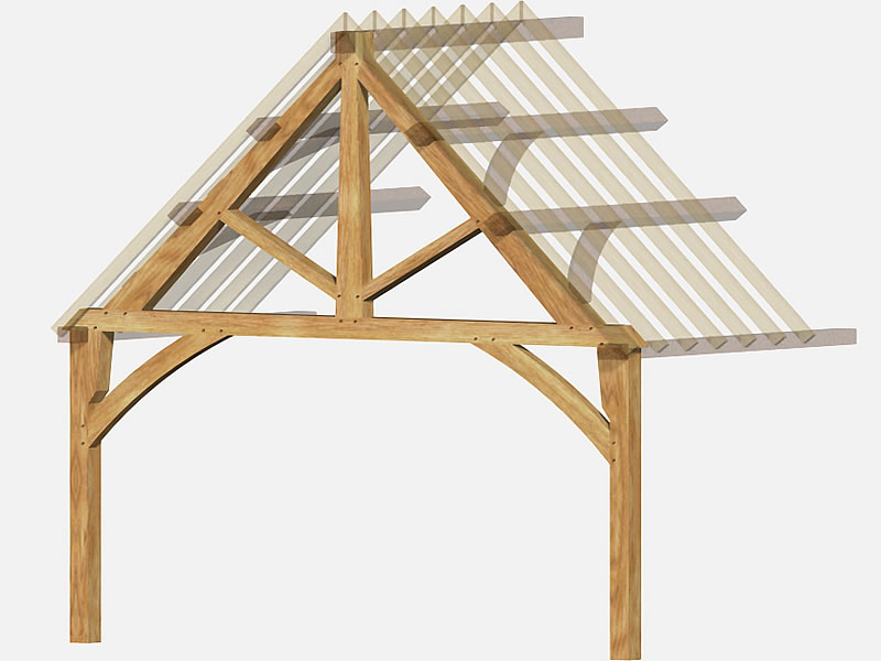 Oak Frame Carpentry Company Green Steady And Stable Oak
