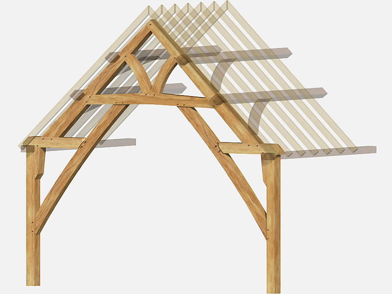 King Post Roof Truss