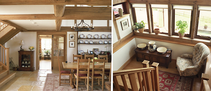 Oak Frame Carpentry Company England Design And