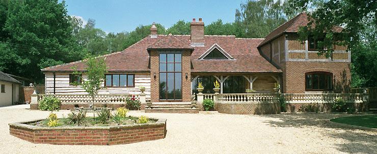 Oak Frame Carpentry Company England Design And