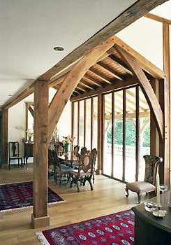 Oak Frame Carpentry Company Traditional And Contemporary