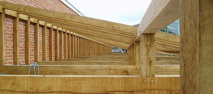 The Oak Frame Carpentry Company Timber Frame Construction